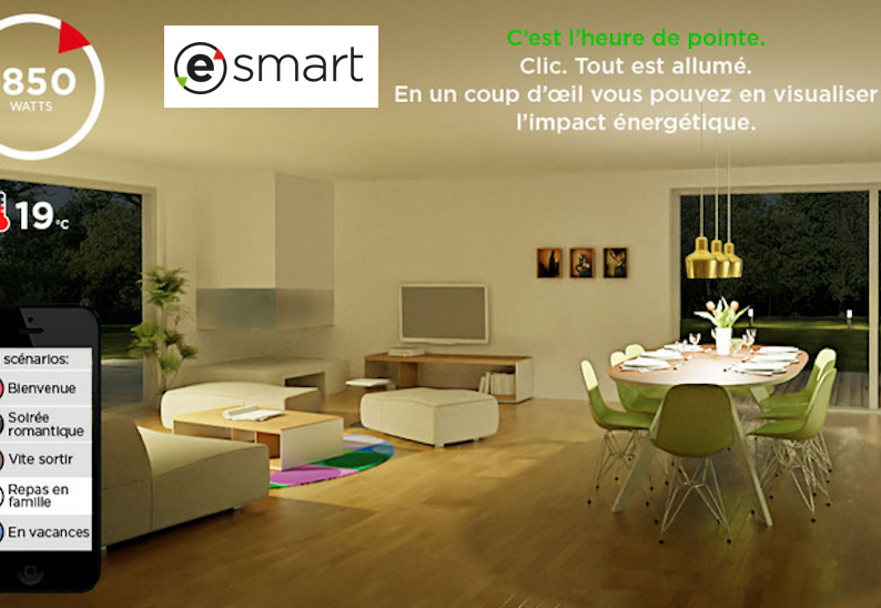 esmart une innovation au service de la maison blog. Black Bedroom Furniture Sets. Home Design Ideas